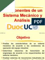 Componentes de Un Sistema Mecanico y Analisis