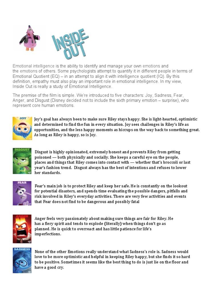 worksheet Ecological Footprint Worksheet inside out worksheet self improvement emotions