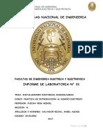 Informe Diseño Electrico 1