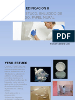 Yeso Estuco