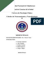 mesencefalo  neuroanatomia