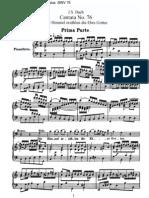 BWV76 - Die Himmel erzählen die Ehre Gottes