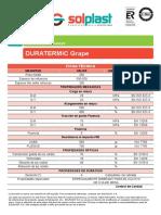 Ficha Duratermic Grape