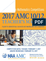 2017 AMC Teacher's Manual