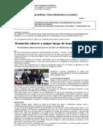Guia Texto Informativo La Noticia