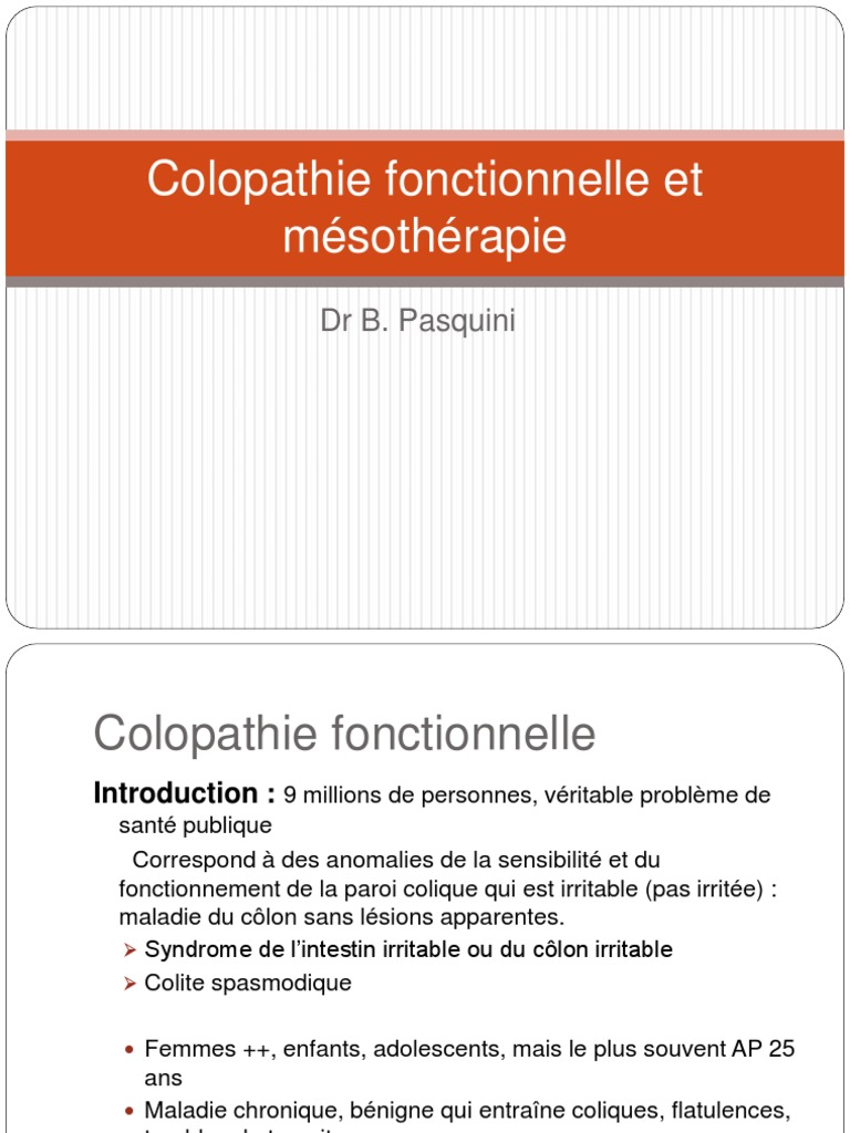 Colopathie