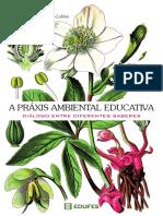 Livro Edufes Práxis Ambiental Educativa Diálogo Entre Diferentes Saberes