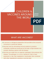 children   vaccines around the world pptm