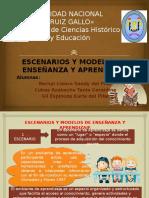 Diapositivas de Escenarios y Modelos de Aprendizaje