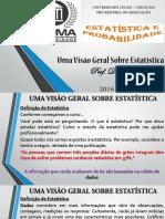 Aula 1 - Estatística (1)
