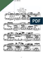 BWV82 - Ich habe genug