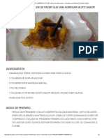 BANANA DA TERRA FLAMBADA DO CHEF _ Doces e Sobremesas _ Receitas Com Banana _ Receitas Gshow