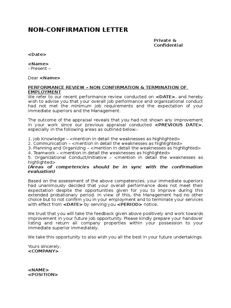 Confirmation Of Termination Of Employment Letter from imgv2-1-f.scribdassets.com
