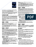 Race for the Galaxy - Rules Summary v1.0