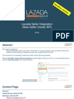 [MY] Lazada New Seller API Integration