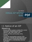 annual iep guide