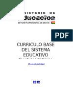 Currículo Base Del Sistema Educativo Plurinacional