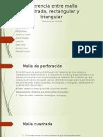 Diferencia Entre Malla Cuadrada, Rectangular y Triangular