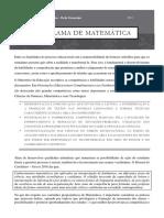 Programa de Matematica