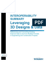 Interoperability Summary Leveraging 3D Designs Data White Paper