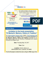 THE CALIFORNIA-MEXICO STUDIES CENTER  - Special invitation to the book presentation of El Mariachi Memory History and Tradition.pdf