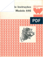446 carburador  Manutenção e Regulagens