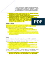 Epidemiologia Esquizofrenia Chile