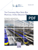 California HSR Due Diligence Report