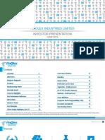 FIL Q4FY16 Results Presentation