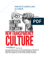 RTI  Rocky road to Sri Lanka's new transparency culture.docx