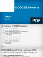 ISOC Latency Docsis