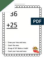 2 digit addition regrouping v2