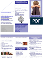 childhood depression brochure portfolio