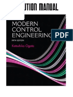 Solution Manual for Modern Control Engineering,5th ed.pdf