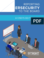 Guide Reporting Cybersecurity to the Board BitSight