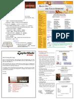 Church St Bulletin for April 30, 2017