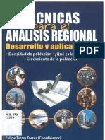 Torres Torres, Tecnicas Para El Analisis Regional