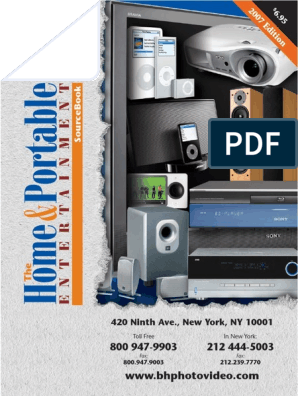 B&H Home & Portable Entertainment Catalog | I Pod | Am
