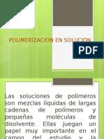 Polimerizacion en Solución