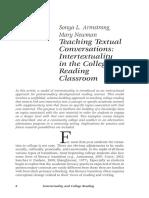 Intertextuality in Reading