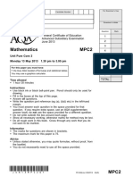 Aqa Mpc2 Qp Jun13(Edit)