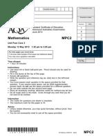 Aqa Mpc2 Qp Jun13(Edit)