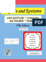 Signals and Systems With [MATLAB] Computing and Simulink Modeling - Karris - 5th Edition