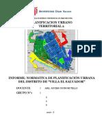 Plantilla Para Informe - Planificacion 2 (1)