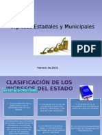 Ingresos Estadales y Municipales