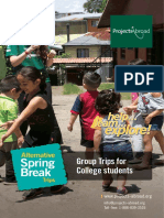 Alternative Spring Break Leaflet