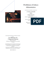 Taylor - Problemes d'Echecs Elementaires (French)
