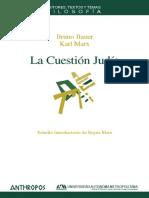 Karl Marx - La Cuestion Judia.pdf