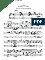 BWV100 - Was Gott tut, das ist wohlgetan [III]