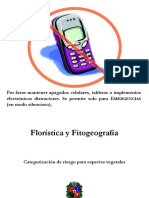2016 01 Floristica y Fitogeografia Tema 01 Categorizacion Especies